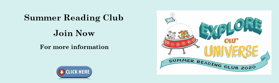 Summer Reading Club 2020 is here!